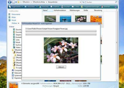 PictureSize Wizard - Stapelverarbeitung