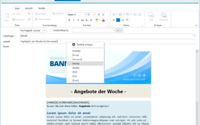 Pressemeldung: Newsletter Software – Personal Mailer
