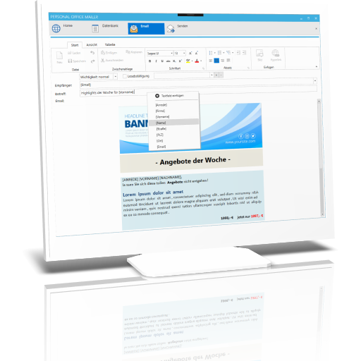 Outlook Serienmail mit Anhang