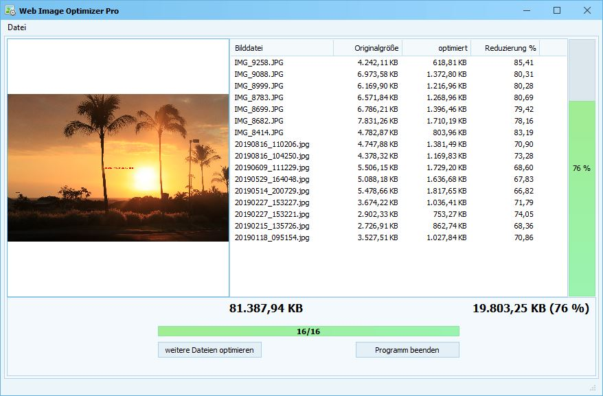 Web Image Optimizer