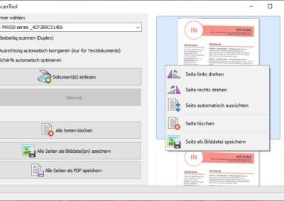 ScanTool - Scannen als PDF
