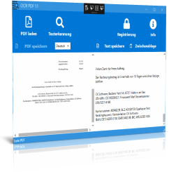 Texterkennung PDF