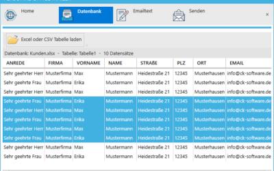 Pressemeldung: Serienmail mit Outlook – Personal Office Mailer